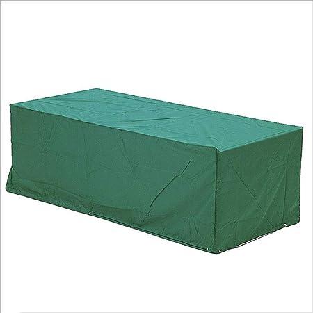 CATRP-lonas Funda para Mesa De Jardín De Ratán Rectangular Funda De Muebles Impermeable, 3 Colores, 20 Tamaño, Personalizable (Color : Green, Size : 150x130x90cm): Amazon.es: Hogar