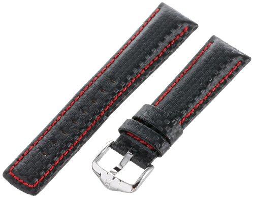 Watch Strap, Color:Black (Model: 025920-52-22) ()