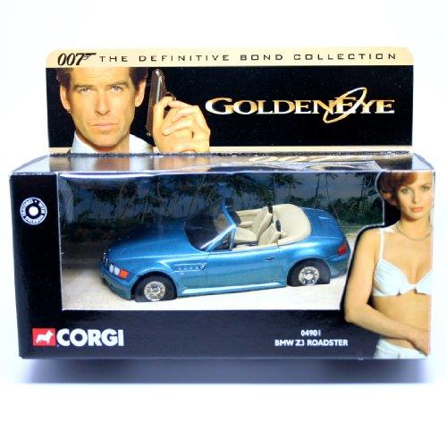 BMW Z3 ロードスター (メタリックブルー) 「007 ゴールデンアイ」 ディフィニティブ・ボンド・コレクション 04901
