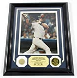 Jason Giambi Game Used Collection Photo Bat Coin Highland Mint Framed DF024905 - MLB Game Used Bats