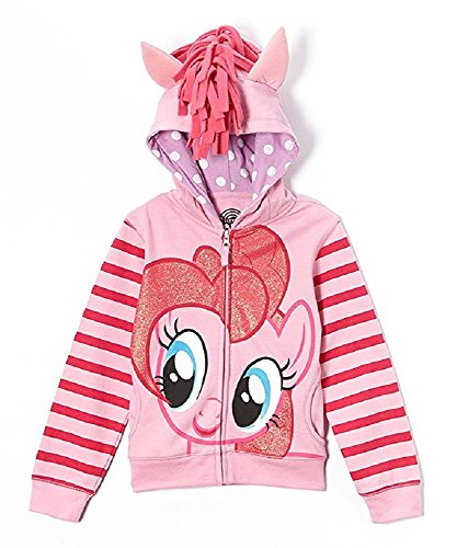 My Little Pony Pinkie Pie Costume (My Little Pony Toddler Costume Hoodie (3T, Pinkie Pie))