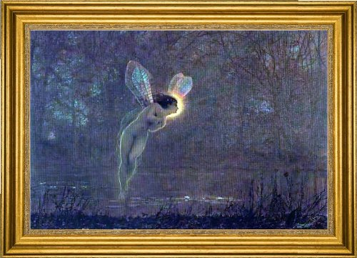 Art Oyster John Atkinson Grimshaw Iris - 18.05