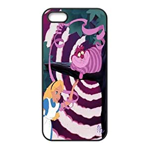 Steve-Brady Phone case Alice in Wonderland Protective Case For Apple Iphone 5 5S Cases Pattern-5 by runtopwell