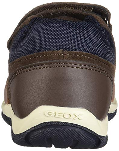 Bebé Shaax C6034 chestnut A Niños Zapatillas B dk para Marrón Geox Brown Iq45x
