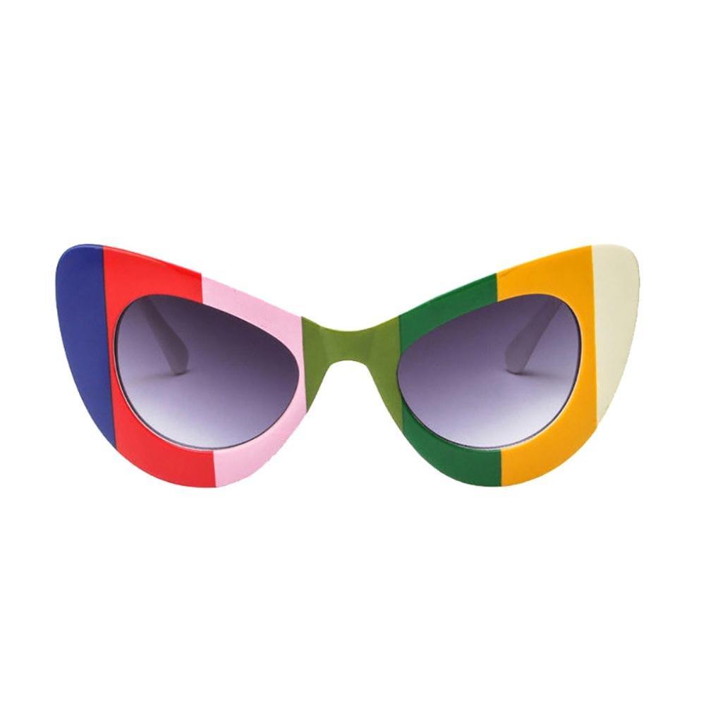 LHWY Sonnenbrille Damen 2018 Frauen Fashion Cat Eye Rahmen Gläser ...