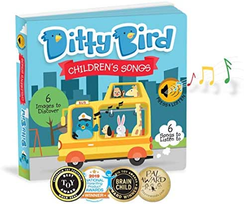 Our Best Interactive Children's Songs Book for Babies. Musical Toddler Book. Sound Books for one Year Old. Educational Toys for 1 Year Old boy Gifts. Gift for 1 Year Old Girl. Awards Winner! Blue