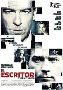 El escritor fantasma del cartel de la película española 27 x 40 - 69 cm x 102 cm: Amazon.es: Hogar