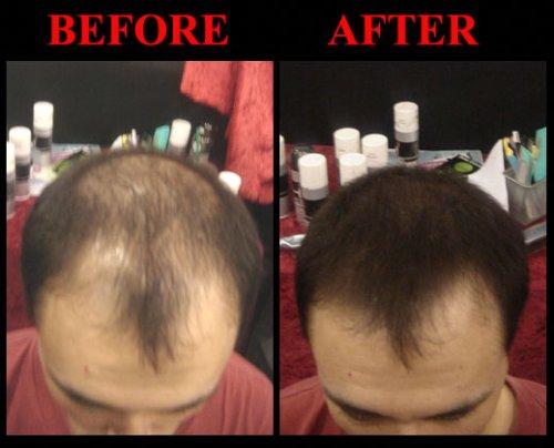 Hair Cubed® - Light Blond, Hair Building Fiber Spray -(Water Proof) Lasts 2 - 5 Months by Hair Cubed  Light Blonde Hair Fiber (WaterProof) (Image #5)