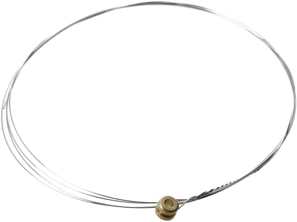 SODIAL(R) 218 E-1 Cuerda de acero inoxidable profesional aleacion de cobre de la guitarra