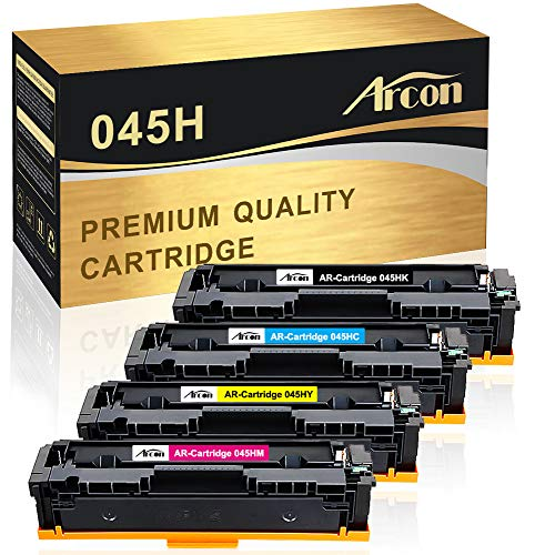 Kit A for MF630 Series /& LBP612Cdw Printers Canon 045 Toner Cartridge Includes Yellow//Magenta//Cyan//Black