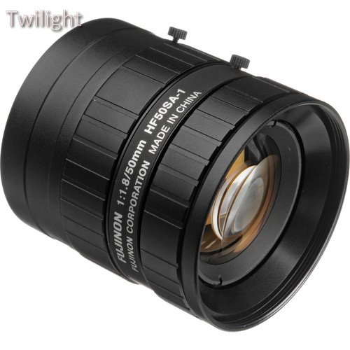 Manual Mount Iris (Fujinon HF50SA-1 2/3