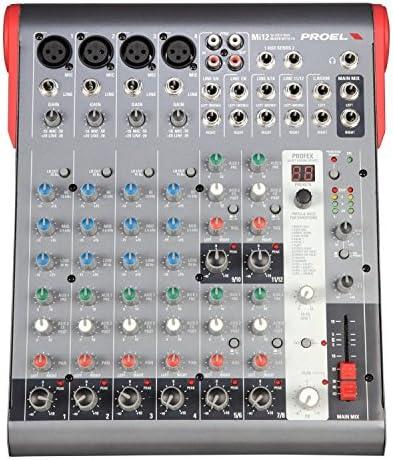 PROEL MESA DE MEZCLA MI12: Amazon.es: Instrumentos musicales
