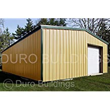 Duro Beam Steel 30x40x14 Metal Building Kit Factory Direct Rigid Frame Clear Span Building