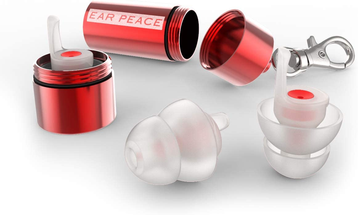 EarPeace HD Concert Ear Plugs - High Fidelity Hearing Protection for Music Festivals, DJs & Musicians