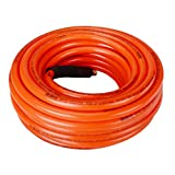 DuRyte Pro 300 PSI PVC Air Hose - 3/8-Inch by 50-Feet, 1/4-Inch MNPT Brass Ends