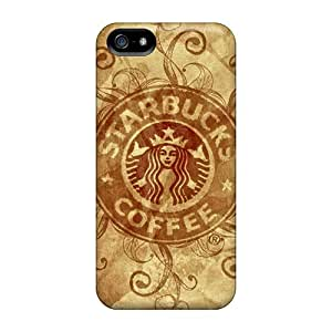 Durable Hard Cell-phone Case For Iphone 5/5s With Provide Private Custom Fashion Starbucks Image LauraAdamicska