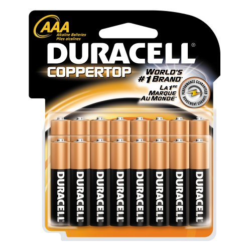 Duracell Batteries, AAA Size, 16-Count Packages (Pack of 2)