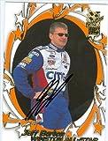 Autograph Warehouse 41355 Jeff Burton Autographed Trading Card Auto Racing 2002 Press Pass Vip No. 35