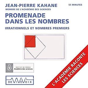 Promenade dans les nombres : Irrationnels et nombres premiers | Livre audio
