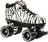 Riedell Dart Speed Skates - Zebra Stripe (4)