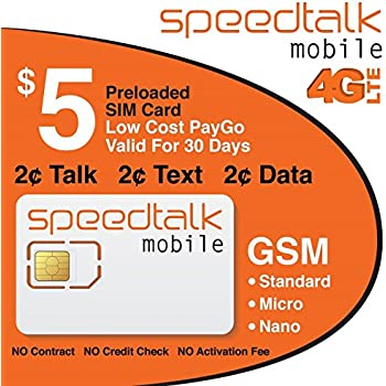 Amazon.com: $9 GSM SIM Card - 500 Text, 500 Mins Talk, and ...