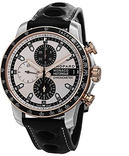 Chopard Grand Prix de Monaco Historique Men's Rose Gold Automatic Chronograph Watch 168570-9001