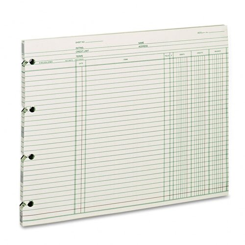 Acco Regular Ledger Sheets GN2D by ACCO Brands by Unknown