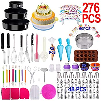 Hilly/'s Kitchen Cake Decoration Set 16 Pieces Icing Spatula Icing Nozzles Bags
