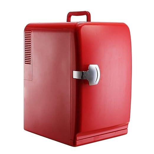 Nevera Portatil Refrigerador Rojo Para Auto De 15 Litros, Mini ...
