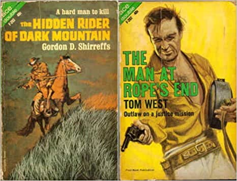 Hidden Rider Of Dark Mountain Man At Ropes End Ace Western