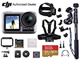 DJI OSMO Action - Dual Touch Display Waterproof Digital Action Camera with 4K HD Video 12MP Photos Live Streaming Stabilization (Must-Have)