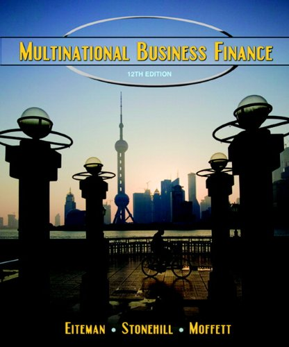 Multinational Business Finance (12th Edition)