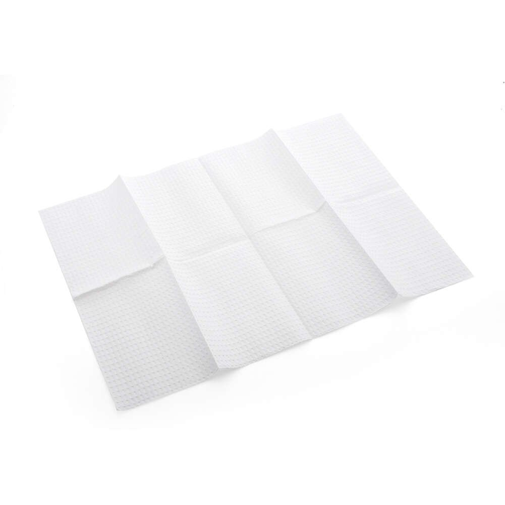 MediChoice Multi-Purpose Towels, Professional 3-Ply, Tissue, 13 Inch x 18 Inch, White (Case of 500)