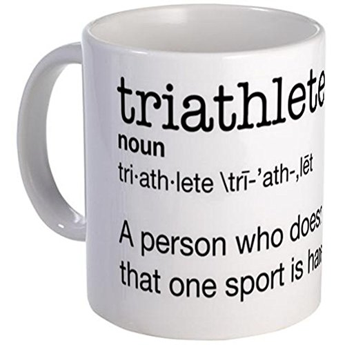 CafePress - Triathlete Mug - Unique Coffee Mug, 11oz Coffee Cup