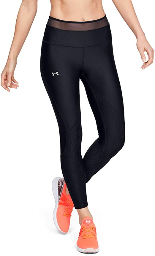 NEW Under Armour Women's Athletic Heatgear Armour Graphic High-Rise Leggings