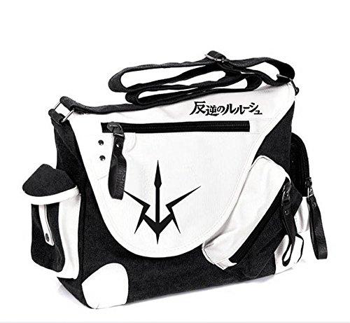 Code Geass Cc Cosplay Costume (Siawasey Code Geass Anime C.C. Cosplay Backpack Messenger Bag Shoulder Bag)