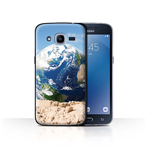 Stuff4 Phone Case   Cover For Samsung Galaxy J2 2016   Global Warming Design   Down Under Collection