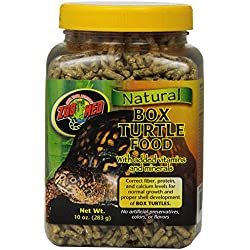Zoo Med Natural Box Turtle Food, 10 Ounce