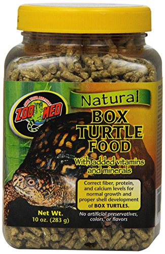 Zoo Med Natural Box Turtle Food, 10 Ounce (Natural Box Turtle Food)