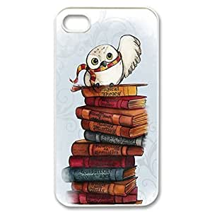SUUER cute harry potter owl hedwig Custom Hard Case for iPhone 4 4s Durable Case Cover