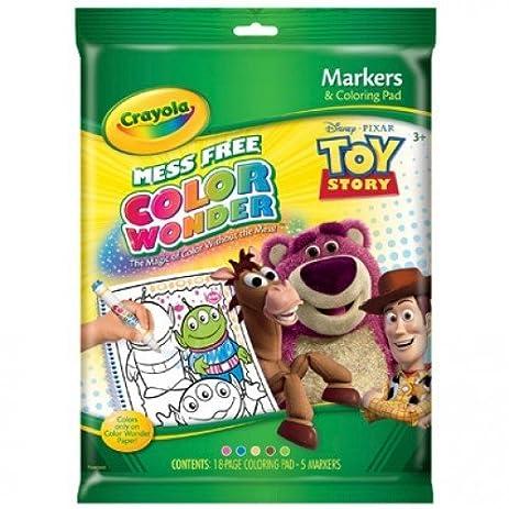 crayola color wonder toy story coloring book and markers - Color Wonder Coloring Books
