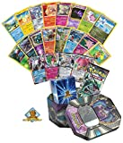 Pokemon EX Guaranteed with Booster Pack - 5 Foils - 5 Rares - 20 Pokemon Common and Uncommon Cards! Includes Pokemon Tin and Golden Groundhog Deck Box!