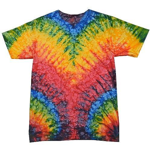 Colortone Tie Dye T Shirt LG Woodstock