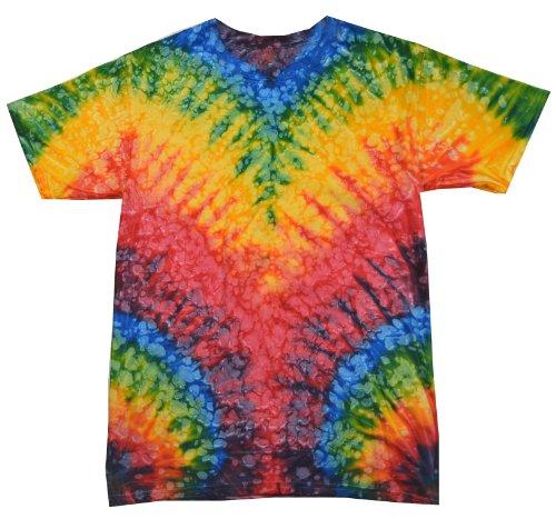 Colortone Tie Dye T-Shirt LG Woodstock