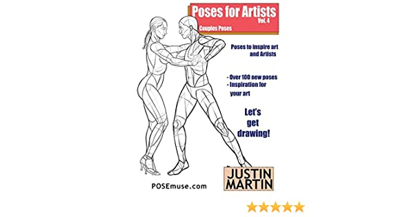 Poses for Artists Volume 4 - Couples Poses: An essential