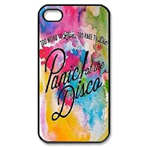 LTTcase Custom panic at the disco Durable Case for iphone 4,4s