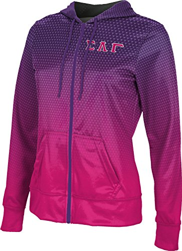 ProSphere Women's Sigma Lambda Gamma Zoom Full-zip Hoodie (Small) (Shocking Pink Anime)