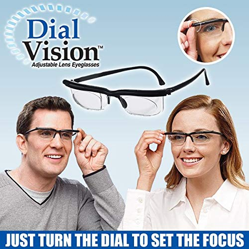 3cc15659b9 Amazon.com  Dial Vision Unisex Glasses by BulbHead