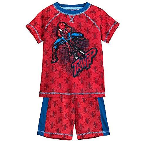 (Marvel Spider-Man Shorts Sleep Set for Boys Size 3)