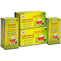 Herbal Prasadam Tea(Premix Lemon) Pack of 4